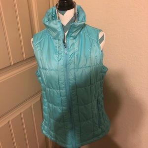 Teal Blue vest New York and Company